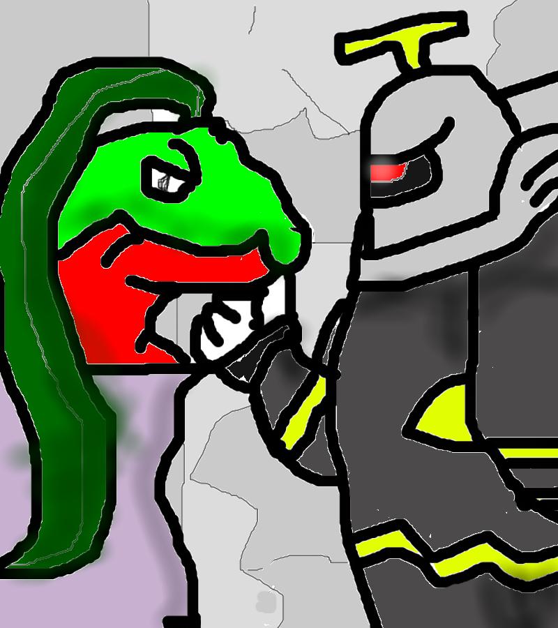 Grovyle And Dusknoir