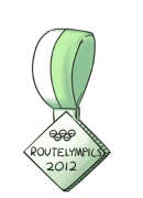 Routelympics Participation Ribbon